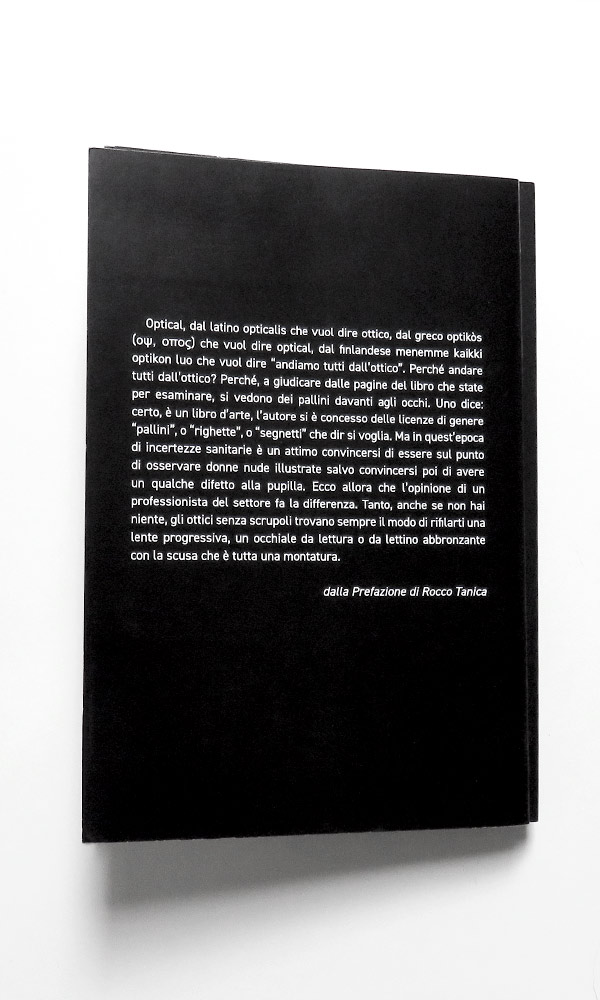 Retro copertina - un cruciverba nelle pupille - Pierino De luca - PAN-O-RAMA